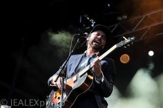 Shakey Graves Performs at Austin City Limits Music Festival 2015 in Austin, Texas on Saturday, October 3.