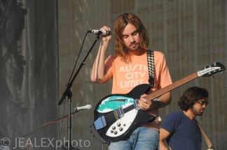 Tame Impala Perform at Austin City Limits Music Festival 2015 in Austin, Texas on Friday, October 2.