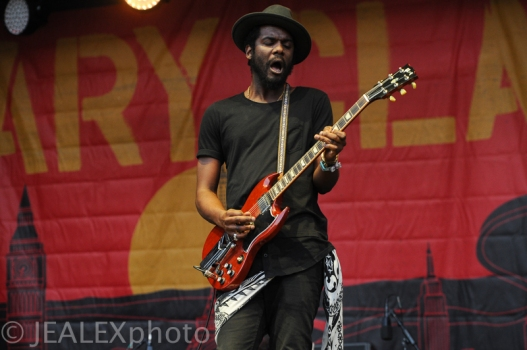 Gary Clark Jr. Performs at Austin City Limits Music Festival 2015 in Austin, Texas on Friday, October 2.